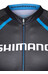 Shimano Performance Print Kurzarmtrikot Herren Black/Blue